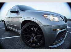 2011 Space Gray Hamann X5M! Rare Cars for Sale BlogRare