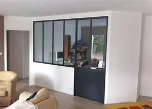 les 25 meilleures idees de la categorie cloison vitree sur With cloison vitree cuisine salon