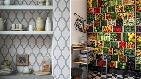 papier peint lessivable cuisine quel papier peint choisir dans la cuisine