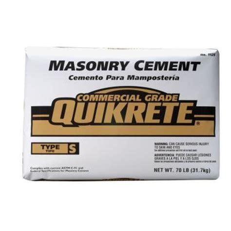 depot quikrete quikrete 70 lb type s masonry cement 112571 the home depot Home