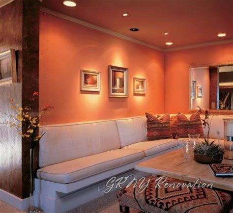 peach color living room accent wall ideas 13 room colors