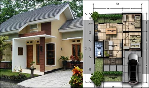 gambar rumah minimalis sederhana tapi indah gambar