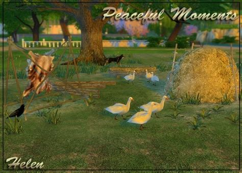peaceful moments  helen sims sims  updates