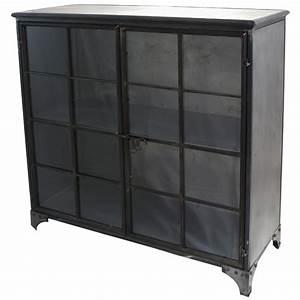 Buffet Industriel Pas Cher : bahut metal industriel maison design ~ Dallasstarsshop.com Idées de Décoration
