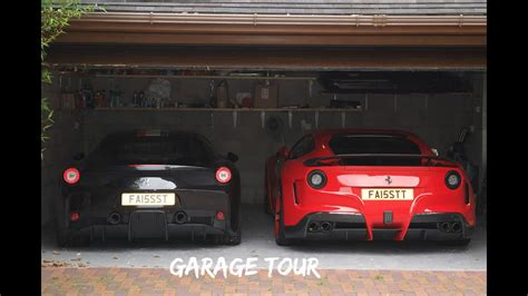 Ferrari Garage Tour Uk Youtube