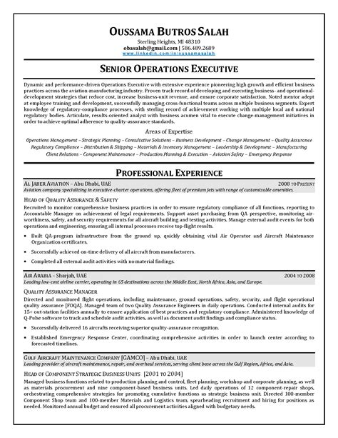 Financial Operations Manager Resume Sle by Aviation Manager Resume Sales Management Lewesmr