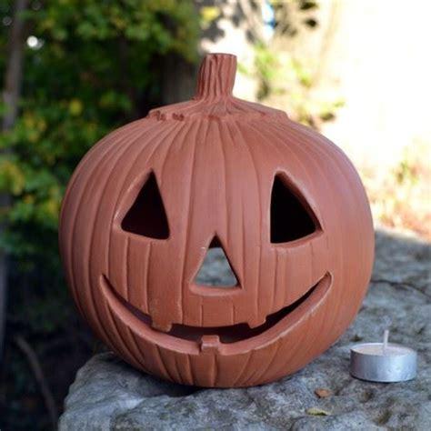 halloween pumpkin lantern terracottaukcom hand