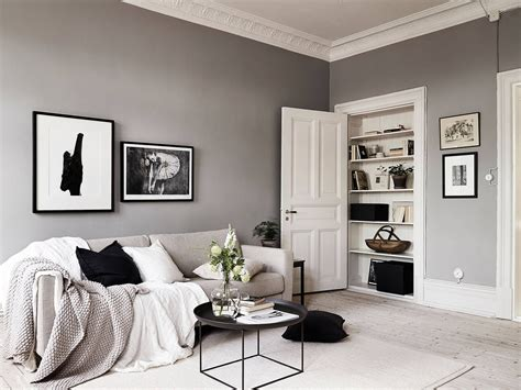 Living Room Design With Neutral Colors by A Swedish Home With Neutral Colors Rue
