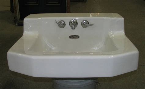Art Deco Wall Mount Sink. Own This.