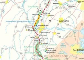 Appalachian Trail Pennsylvania Map