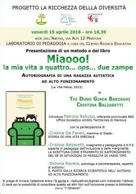 Ufficio Scolastico Provinciale Mantova by Mantova 15 4 16 La Ricchezza Della Diversit 224 L Autismo