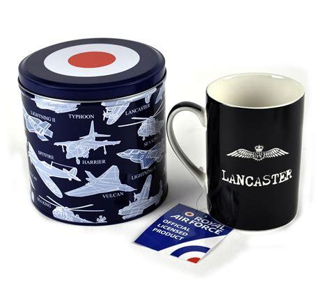 RAF Lancaster Bomber Fine China Mug and Storage Tin Gift