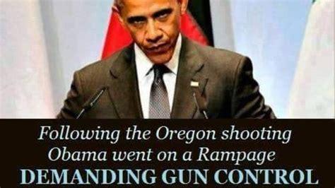 Obama Shooting Meme - brutal meme blows up obama s gun control narrative
