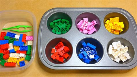 lego color sorting activity for preschool math and 247   maxresdefault