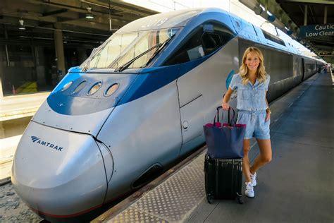 amtrak acela train experience katies bliss