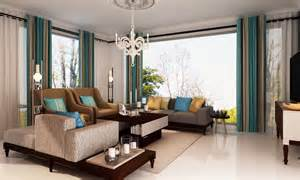 buy classic teal living room online in india livspace com