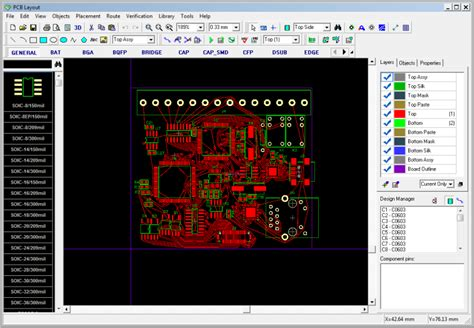 Audio Circuit Electronic Pcb Layout
