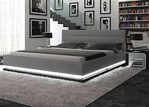 Moderne Betten Mit Led : polsterbett r1 skandinavische m bel ~ Bigdaddyawards.com Haus und Dekorationen