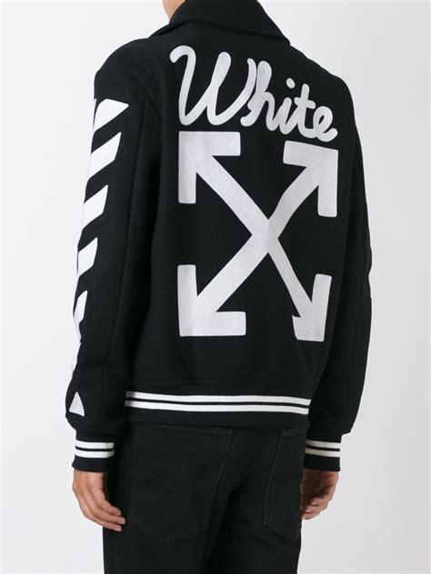 Off-White スタジアムジャンパー - Farfetch | メンズファッション, ファッションブランド ...