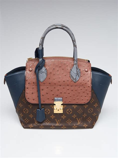 louis vuitton limited edition blue exotique monogram