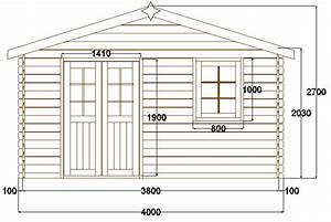 Plan Abri De Jardin En Bois Gratuit : abri de jardin pyr n es 12 m en bois en kit sans permis ~ Melissatoandfro.com Idées de Décoration
