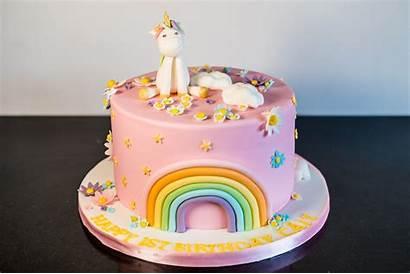 Unicorn Cake Birthday Rainbow Cakes Bakes