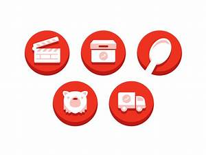 BuzzFeed Video Tool Icons by Chris Rushing   Dribbble ...
