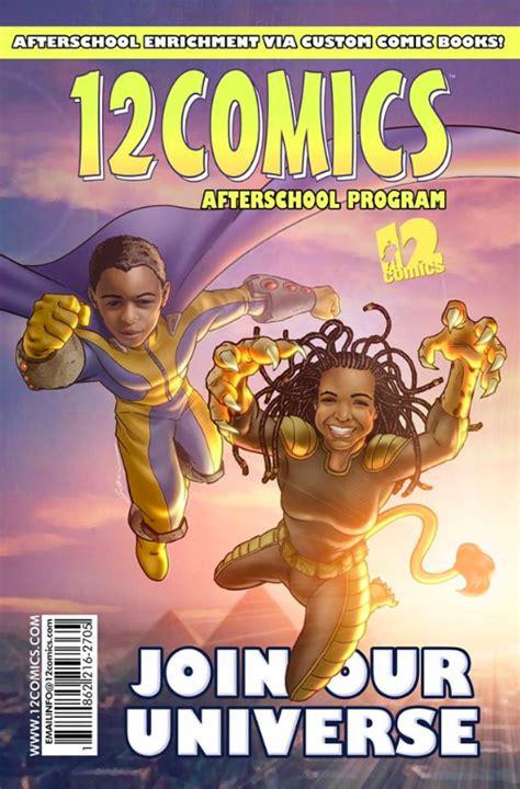 school program teaches literacy  comic books