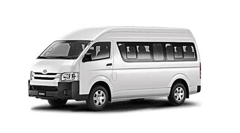 Can be derated to drive on a car license. Van TOYOTA Hiace car rental without a driver [online ...