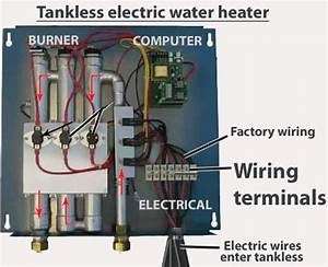 How To Wire Tankless Electric Water Heater