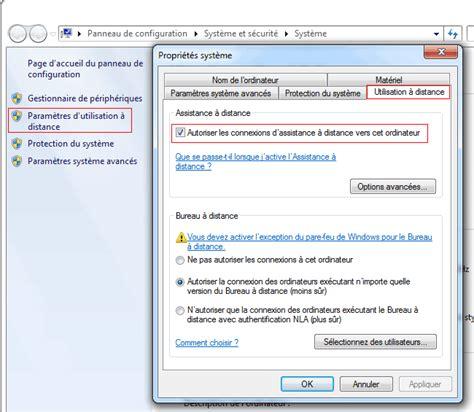 activer bureau distance windows 7 contrôle à distance windows aidewindows