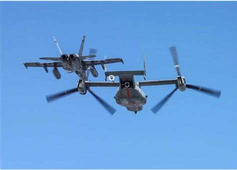 osprey refueling tests year defense news aviation