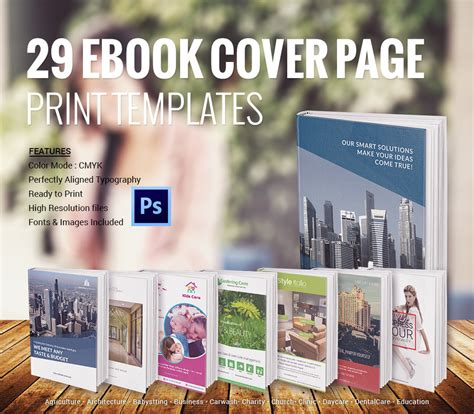 Book Cover Page Design Templates Free by Book Cover Design Template 54 Psd Illustration