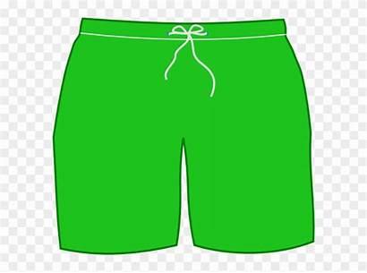Shorts Clip Clipart Short Trunks Swimsuit Swim