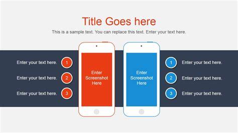 smartphone vector comparison   powerpoint slidemodel