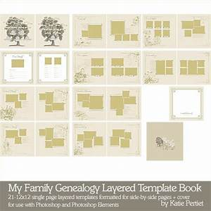my family genealogy layered template book katie pertiet With family genealogy book template