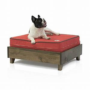 eluxurysupply large dog bed frame 100 north american pine With dog beds with frame and mattress