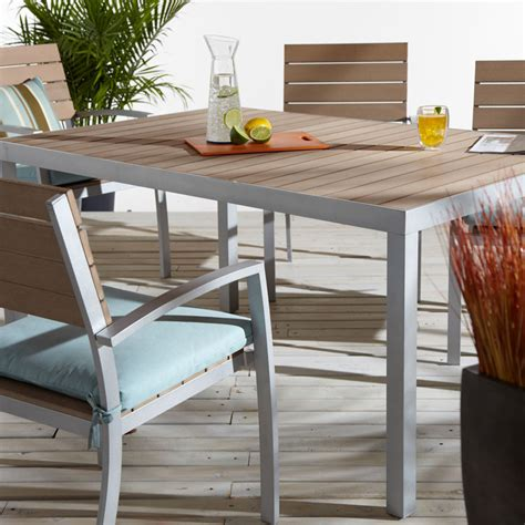 Strathwood Patio Furniture Assembly by Strathwood Brook Rectangular Dining Table Co Uk