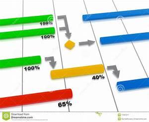 GANTT Chart - Project Plan stock illustration. Image of ...