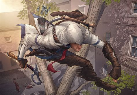 Assassins Creed 3 Fan Art Contest By Patrickbrown On