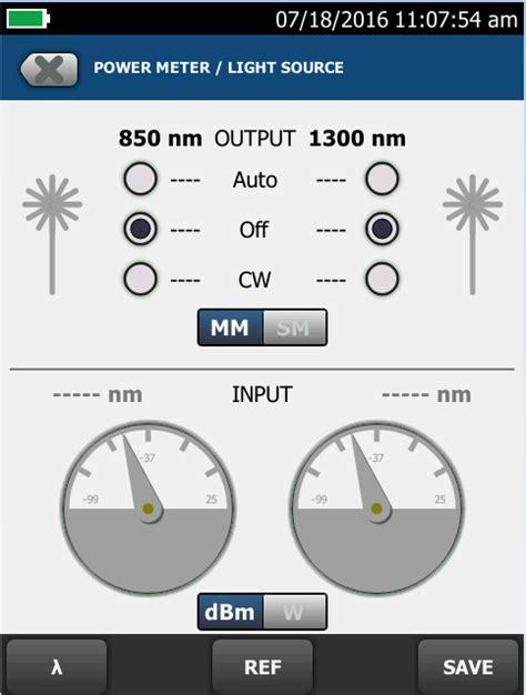 power meter light source test measuring optical power certifiber pro www flukenetworks com