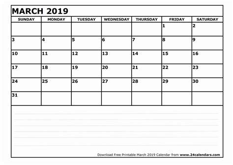 march printable calendar word excel holidays