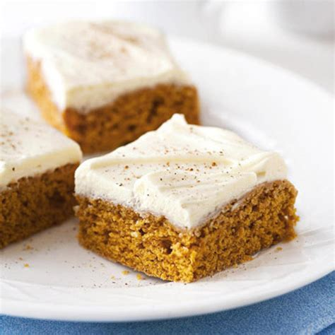 pumpkin bars our best pumpkin recipes diabetic living online