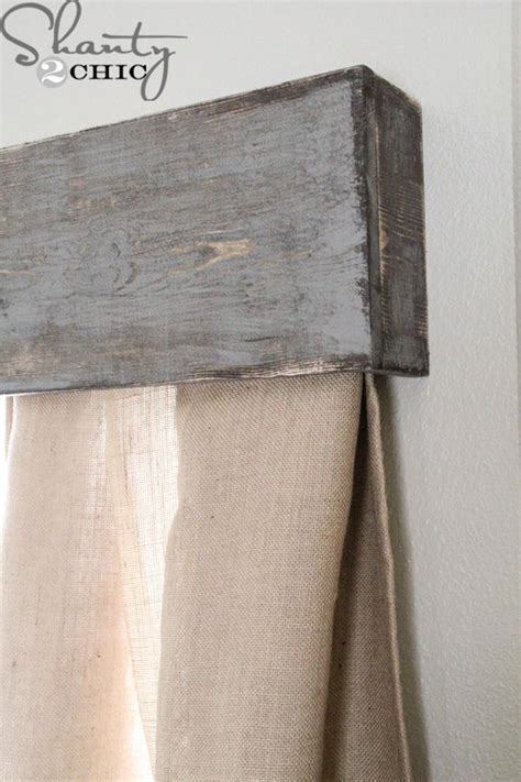 25 best ideas about rustic curtain rods on