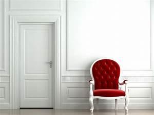 Wallpaper interior style room wall door chair