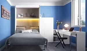 Petite Chambre Ado : deco petite chambre ado garcon ~ Mglfilm.com Idées de Décoration
