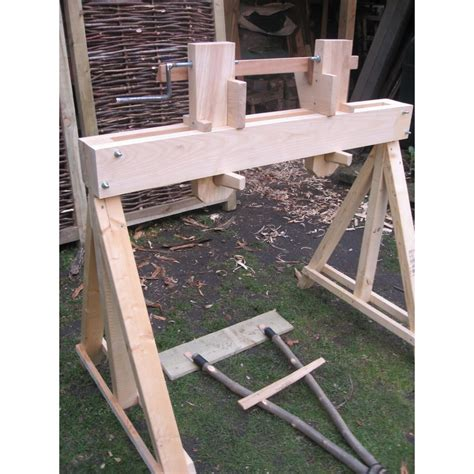 pole lathe kit green woodworking specialists woodsmith