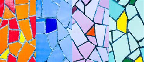 colorful mosaic tiles stock image image of