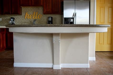 Kitchen Island Update by Our Kitchen Island Update And Glidden Paint And