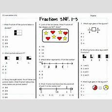 Fractions Test 3rd Grade By Createabilities  Teachers Pay Teachers